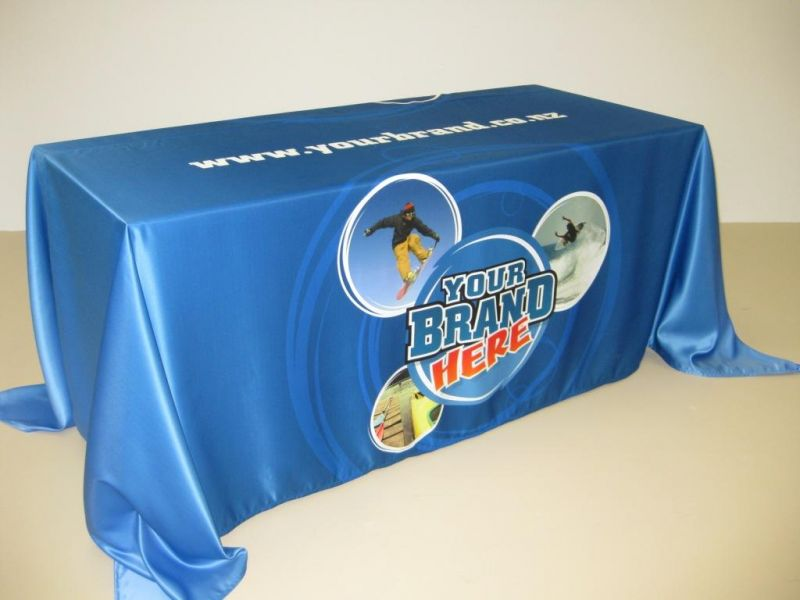 BRANDED TABLE CLOTHS