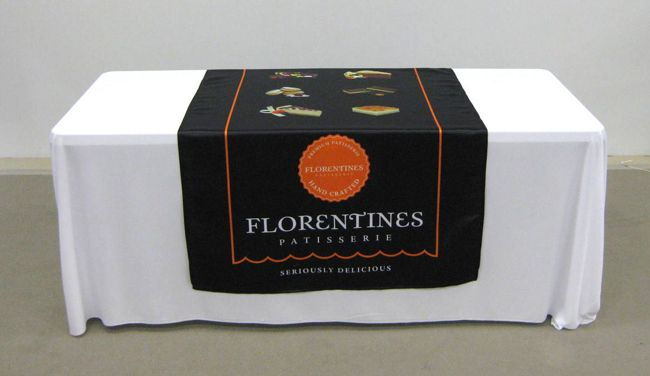 BRANDED TABLE RUNNERS
